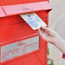 Для вас получена открытка отправьте
