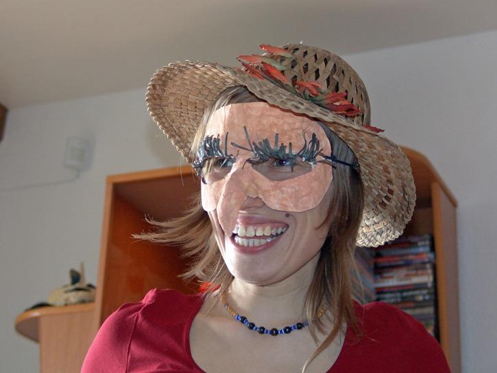Как сделать нос для бабы яги своими руками из 56