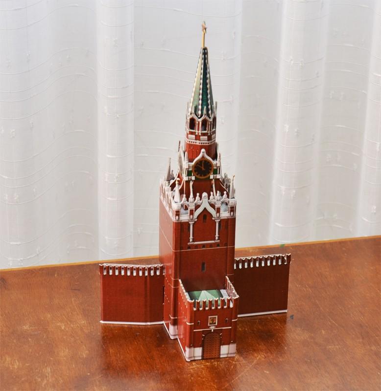 Спасская башня казанского кремля сделать своими руками 9